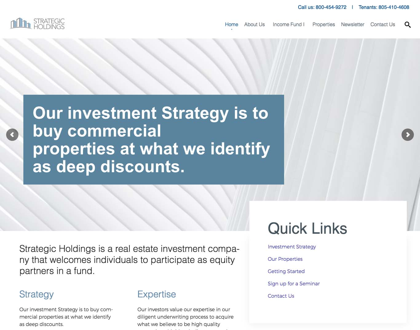 STRATEGICHOLDINGS.COM